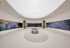 musée de l'orangerie | paris  Monet. One of the most amazing settings