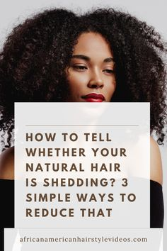 How to Tell Whether Your Natural Hair Is Breaking? Easy Steps To Reduce It. How To Grow Natural Hair, Natural Hair Growth, Natural Hair Styles, Hair Due, Her Hair, Box Braids Hairstyles, Protective Hairstyles, Hair Tips, Hair Hacks