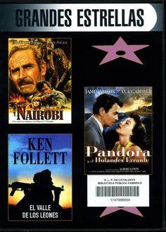SETEMBRE-2013. Nairobi / El valle de los leones / Pandora y el holandés errante. DVD DRAMA CHO