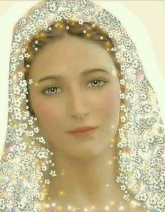 I pray to see her again. Jesus Mother, Blessed Mother Mary, Divine Mother, Blessed Virgin Mary, Religious Pictures, Religious Icons, Religious Art, Angel Pictures, Jesus Pictures