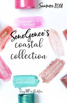 The Coastal Collection by SeneGence includes Shell Glitter ShadowSense and Seafoam Shimmer ShadowSense.#shellglitter #coastalcollection#seafoamshimmer #shadowsense#senegence
