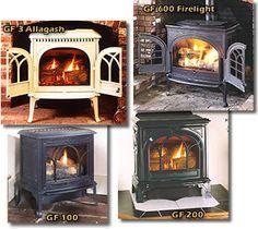 Jotul wood stoves.