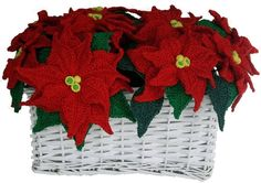 Creating beautiful things goes beyond crocheting, like this stunning Poinsettia Holiday Decor, that I made patiently with floral wires.After the flower pattern, You will have to work artistically to come up with your own pretty home decor for the holidays.The pattern includes pull pages of graphic illustrations to help you fully grasp the written instructions, also, links to the HD videos especially shoot for this pattern are included.To make this, prepare for floral wire 22 and 26 gauges…