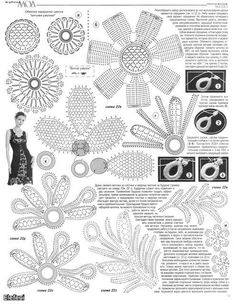 Charity group sought to revive the economy by teaching crochet lace technique at no charge to anyone willing to learn.