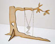 laser cut jewellery stand