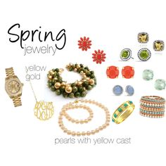 """""""Spring Jewelry"""" by expressingyourtruth on Polyvore"""