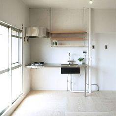 Kitchen Furniture, Kitchen Interior, Home Furniture, Barn Kitchen, Kitchen Dining, Casa Patio, Interior Architecture, Interior Design, Japanese Interior