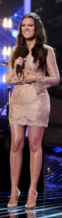 b99176abc0d4 Khloe Kardashian Dress – Dolce  amp  Gabbana Shoes – Jimmy Choo Headband –  Jennifer Behr