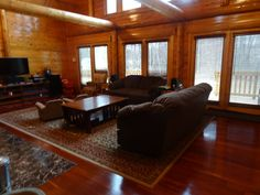 Since 1923 Ward Cedar Log Homes has been providing custom log homes and standard designs. View detailed log home plans & kits and build your next home with Ward. Log Home Plans, House Plans, Timber Logs, Wood Hinges, Cedar Log, Next At Home, Sitting Area, Log Homes, Great Rooms