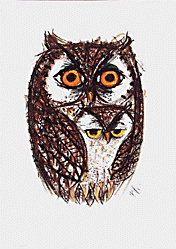 Celestino Piatti--owls