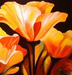 """""""Pretty Poppy"""" par Marcia Baldwin"""