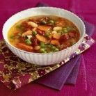 Minestrone with Sun-Dried Tomatoes and White Beans