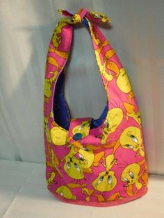 Bright Pink, Pink And Green, Purple, Tweety Bird Quotes, Looney Toons, Curtains Living, Hobo Bags, Bird Cages, Bags