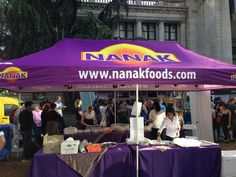 #NanakFoods front and center giving out delicious desserts! #VIBC #bhangra2013 #vancouver