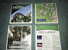Pandora: The World of Avatar Park Map Coaster Set