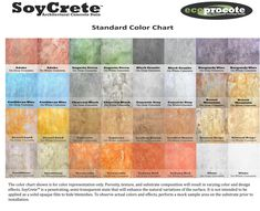 colored concrete patio pictures | ... SoyCrete Architectural Concrete Stain > SoyCrete Standard Color Chart Concrete Bar, Concrete Staining, Concrete Projects, Concrete Blocks, Concrete Stain Colors, Concrete Finishes, Family Room Playroom, Acid Stained Concrete, Floors And More