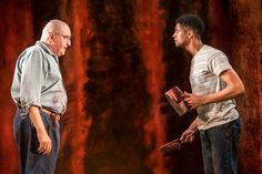 Alfred Molina and Alfred Enoch in the current production of Red at the Wyndham's Theatre. Michael Grandage, Alfred Enoch, Contemporary Plays, Alfred Molina, London Theatre, Latest Sports, Other People, New York City, Acting