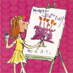Birthday Cards--Quentin Blake