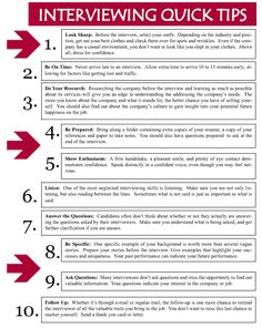 http://www.swccd.edu/~ses/images/interview_quicktips.gif. These are some really good tips!