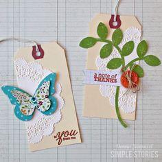 Harvest Lane Gift Tags {Simple Stories} - Scrapbook.com