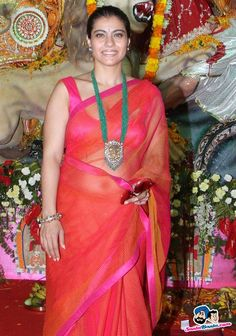 Kajol Picture Gallery image # 237926 at Bollywood Stars Celebrate Durga Pooja containing well categorized pictures,photos,pics and images. South Indian Actress Hot, Indian Actress Hot Pics, Indian Actresses, Bollywood Actress Hot, Bollywood Stars, Bollywood Celebrities, Star Fashion, Indian Fashion, Kajol Saree