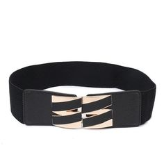 f56cfe08fab92 Women Plus Elastic Stretchy Retro Wide Waist Cinch Belt Cummerbund Black  Wide Belts for Women Strap Waist Female Girls