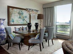 Transitional | Dining Rooms | Andrea Schumacher : Designer Portfolio : HGTV - Home & Garden Television