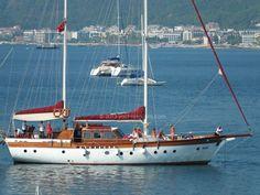 Yacht charter in Turkey : Marmaris harbor