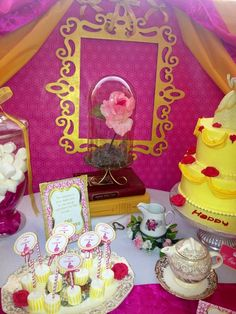 Beauty and the Beast party #princess #party