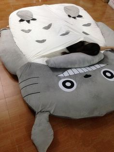 Totoro Sleeping Bag Made By Us With Korea Cold Velvet Look So Cute We Have Partners In US Canada And Australia