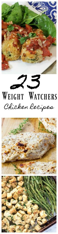 These Weight Watchers Chicken Recipes are sure to be a hit with everyone in your house. Even if they are not on Weight Watchers they are still going to love them! Easy Weight Watchers Chicken Recipe list.