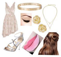 Church by sadsmith on Polyvore featuring polyvore fashion style Elizabeth and James Jimmy Choo Kate Spade Cartier Effy Jewelry clothing