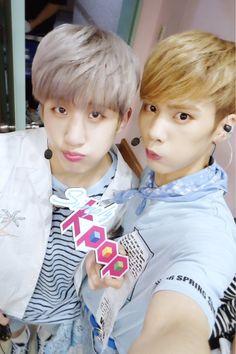 [21.07.16] Astro on twitter - JinJin e Rocky