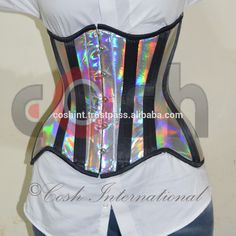 Holographic PVC Underust Corset, View holographic corset, coshintl.com Product Details from COSH INTERNATIONAL on Alibaba.com