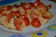 Petto di pollo con pomodorini e scamorza - In cucina con Angela
