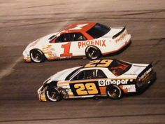 Jeff Purvis (1) and Bob Keselowski (29) in 1994