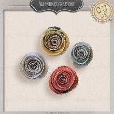 Flowers Pack 38 by #valentina #theStudio #flowers #digiscrap #cu