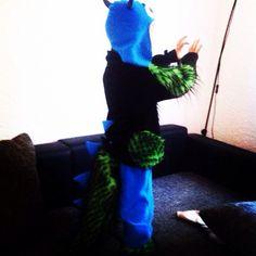 Monster Kostüm #selfmade #halloween #kids #momoko #saarbrücken