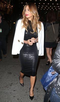 Nicole Scherzinger in New York.