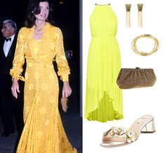 The former first lady dolled up for a date night with Aristotle at the Metropolitan Opera ...
