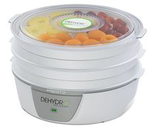 I have been wanting to get a dehydrator. Electric Food Dehydrator