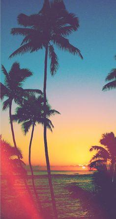 Tropical Beach - Tap to see wonderful beach/sea/ocean wallpaper for iPhone 7! | @mobile9