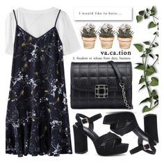 """Casual Chic"" by pastelneon ❤ liked on Polyvore"