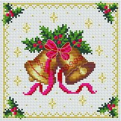 Bells for Girls. Tons of FREE CROSS-STITCH PATTERNS at this site: http://cross-stitchers-club.com/?code_avantage=uucqid Plus, if you click on this link, http://cross-stitchers-club.com/?code_avantage=uucqid , you'll automatically receive a gift when you subscribe. I use this site all the time; there are hundreds of all different types of patterns, and there are new patterns added everyday. It's really worth a look.