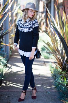 Old Navy fair isle sweater. | Style | Pinterest | Fair isles, Navy ...