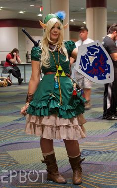 Nice Link cosplay/costume for a girl :) Cosplay Dress, Cosplay Outfits, Cosplay Costumes, Cosplay Girls, Link Cosplay, Best Cosplay, Awesome Cosplay, Cool Costumes, Princesses