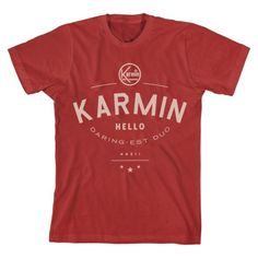 """""""Daring Duo"""" Men's T-Shirt  http://www.myplaydirect.com/karmin/daring-duo-men-s-t-shirt/details/27682142?cid=social-pinterest-m2social-product_country=US=share_campaign=m2social_content=product_medium=social_source=pinterest"""