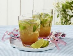 Alkoholfreier Cocktail zum Sommerabschied