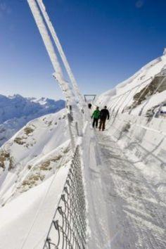 Mt. Titlis Mount Titlis, Engelberg, Life Goals, Amazing Places, Bridges, Switzerland, Places Ive Been, The Good Place, Scenery