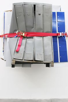 Matias Faldbakken.Locker Sculpture #4, 2013